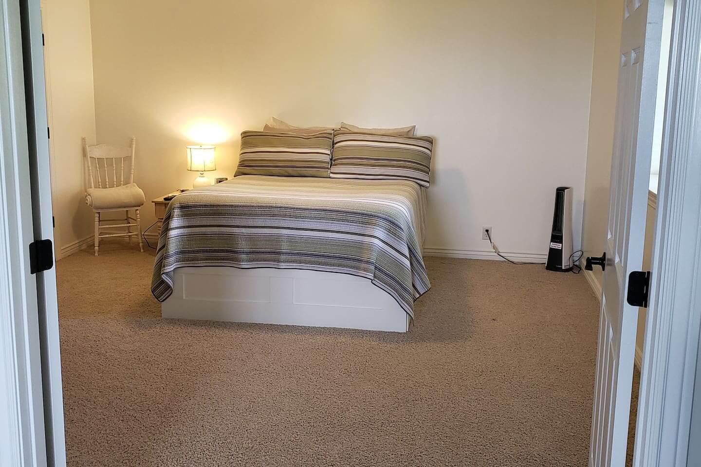 Varmt källar sovrum