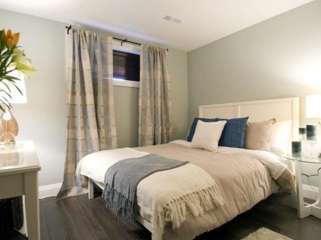 Trevligt källar sovrum