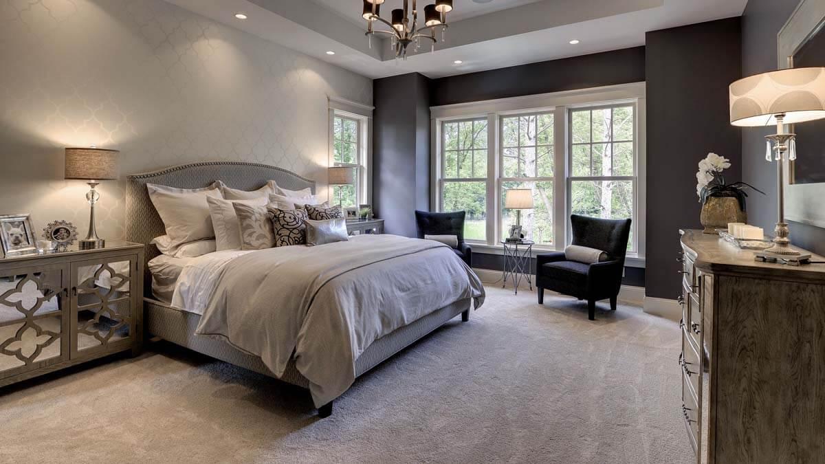 Premium stort sovrum