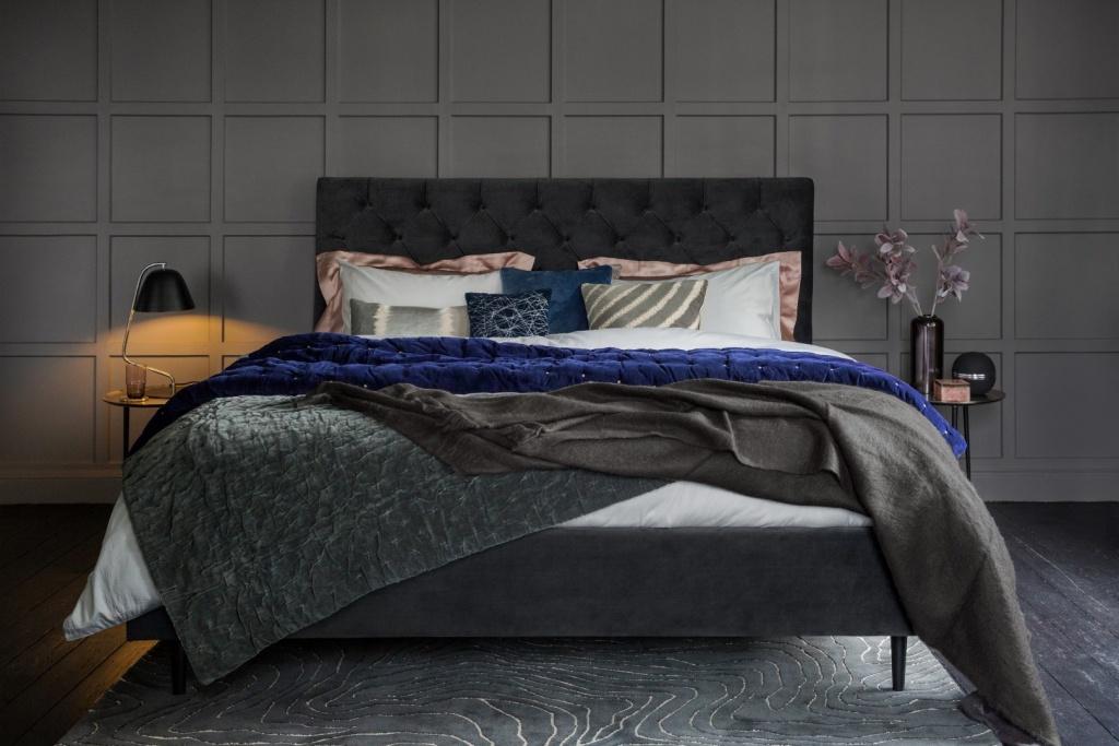 Fancy mörka sovrum