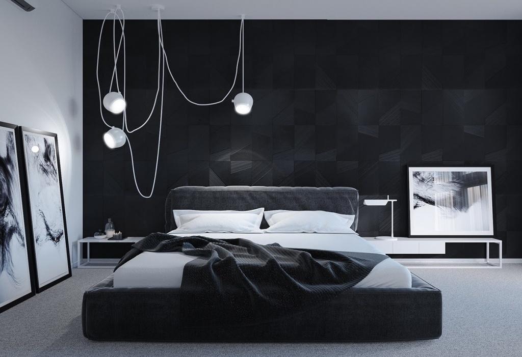 Häftigt mörkt sovrum