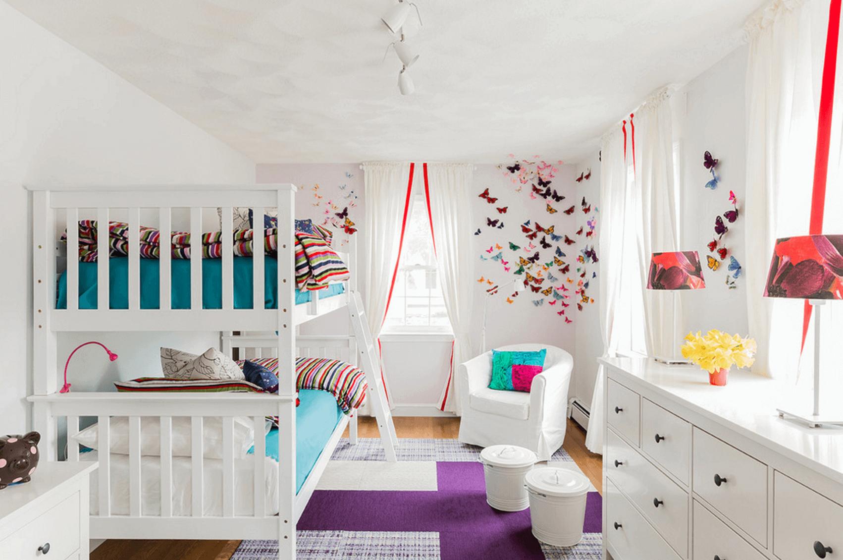 Fantastiskt vitt sovrum