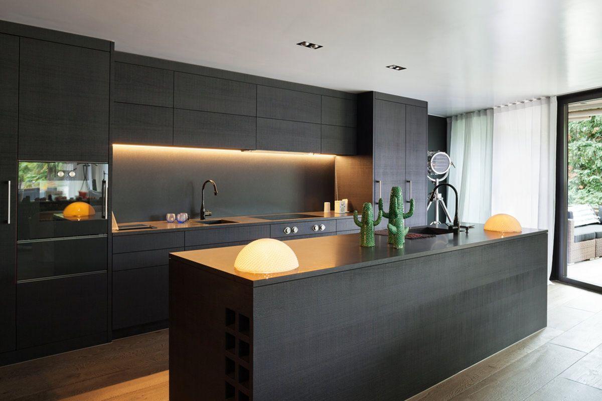 Double Trim Kitchen infälld belysningskoncept