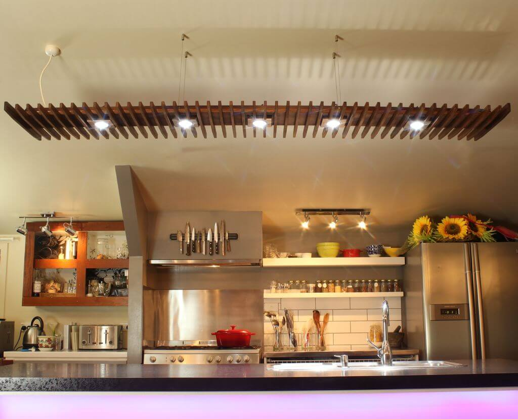 Trendigt kök LED-belysning