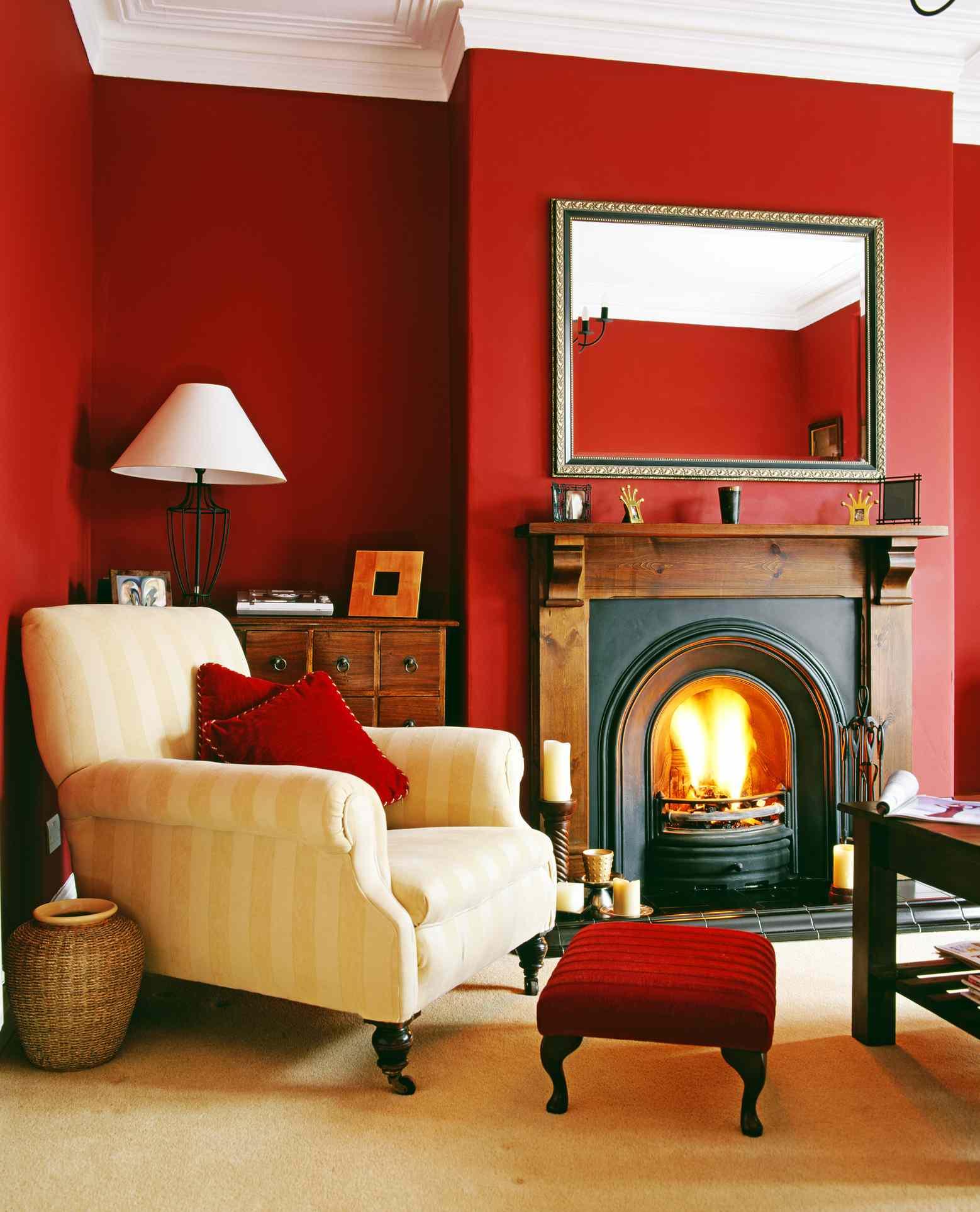 Stol som vardagsrumsmöbler.  Källa: thespruce.com