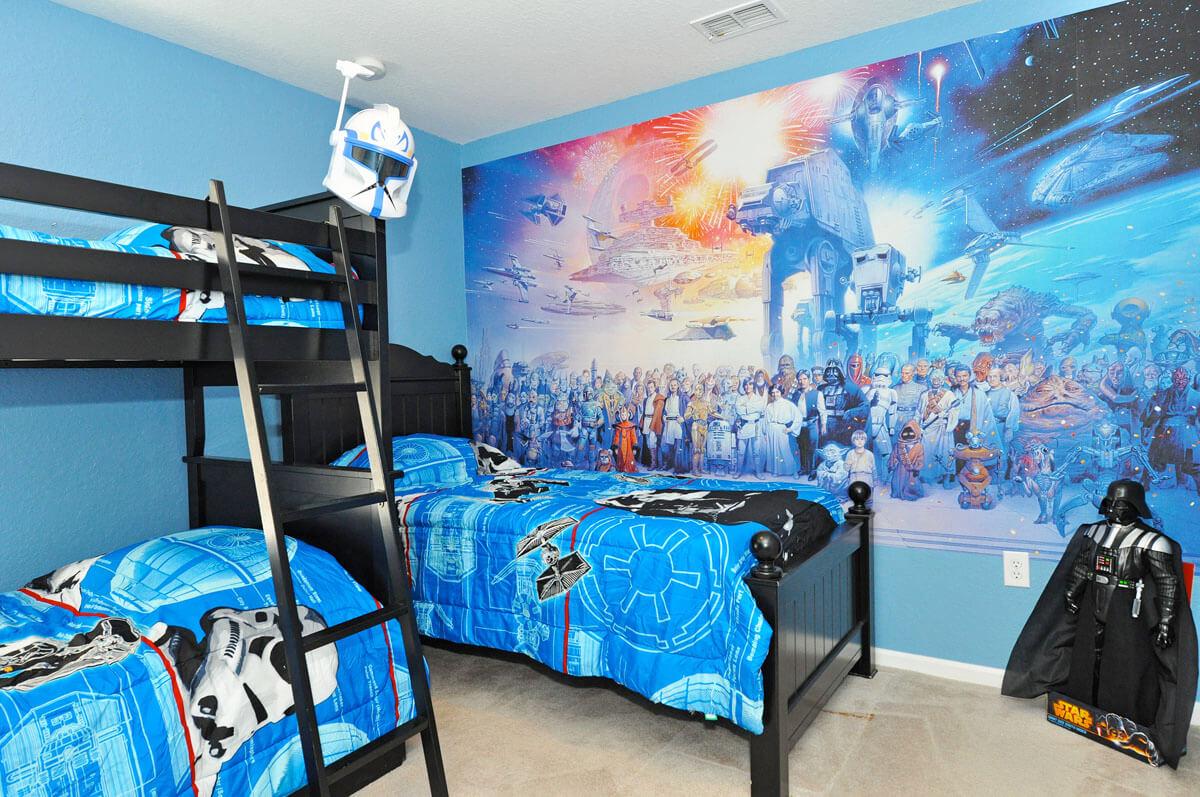 Trevligt Star Wars sovrum