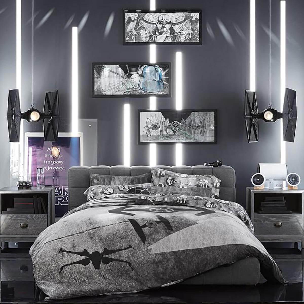 Fantastiskt Star Wars sovrum