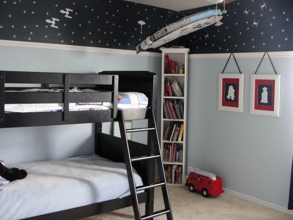 Enkelt Star Wars-sovrum