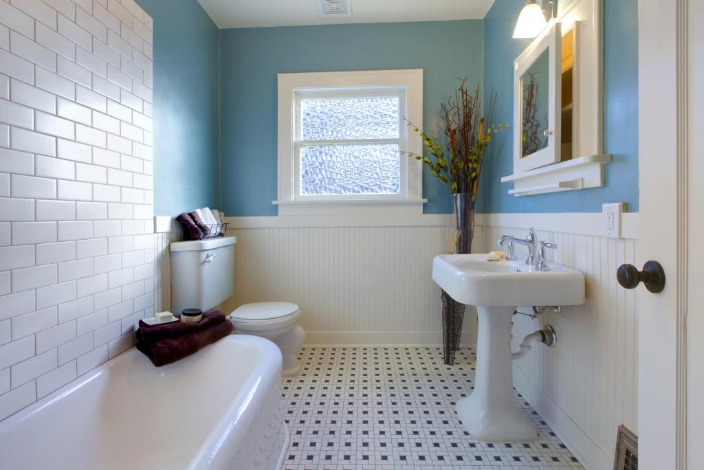 Underbart DIY badrum