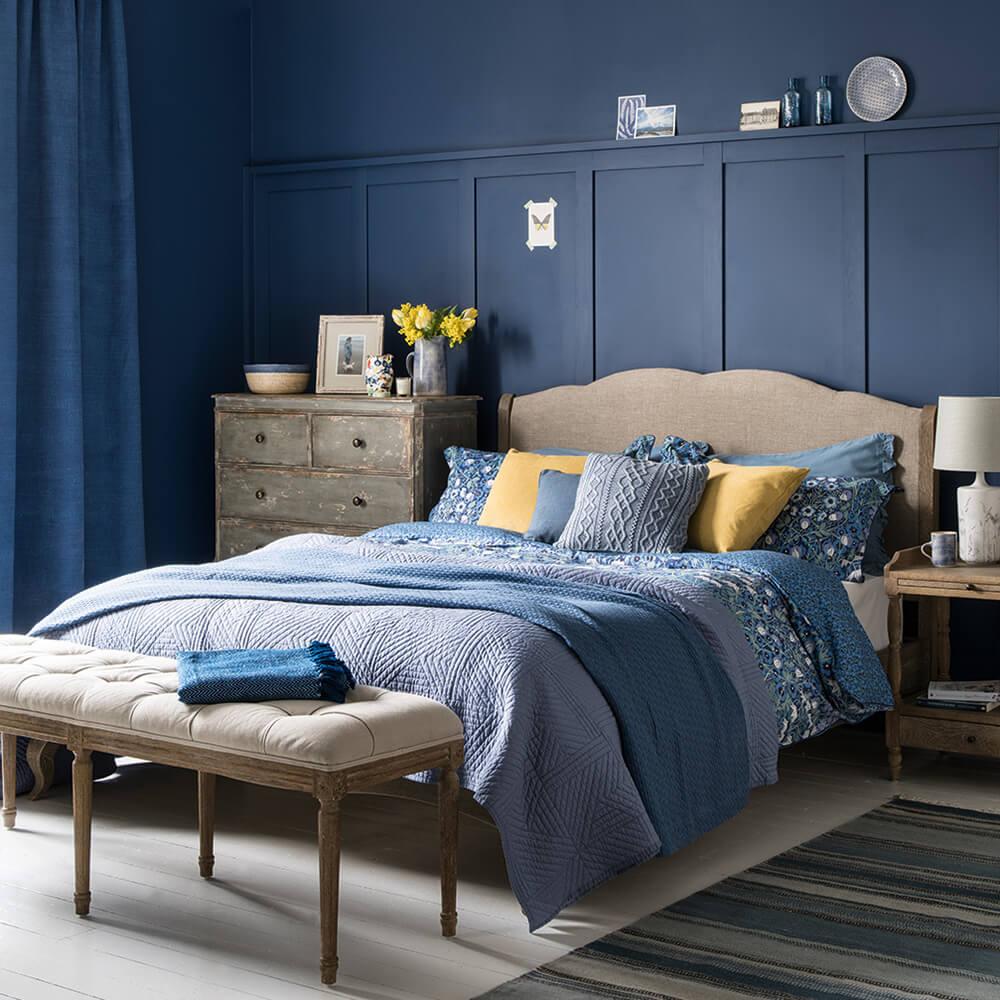 Graciösa vintage sovrum