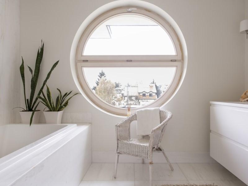 45 idéer för badrumsfönster 2020 (för olika mönster) 14