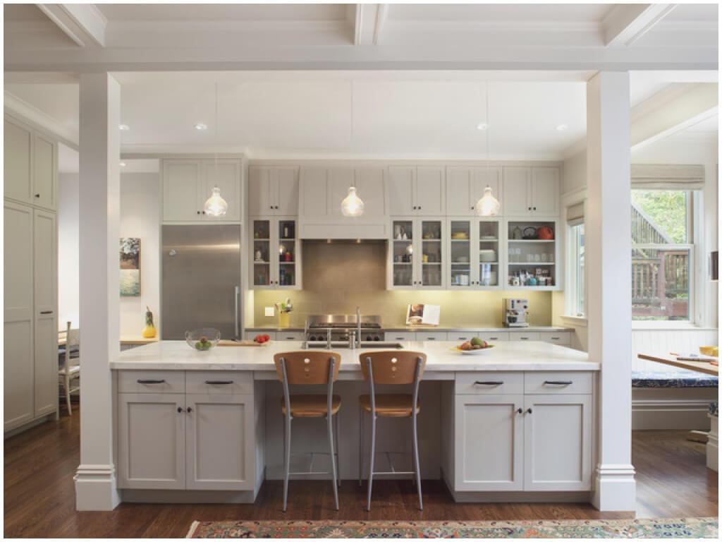 Billigt modernt köksskåp
