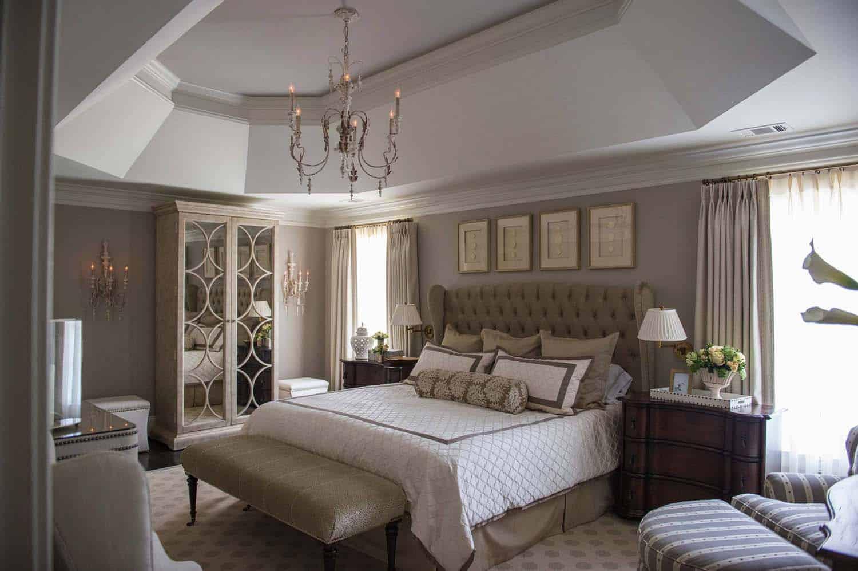 Vintage sovrum belysning