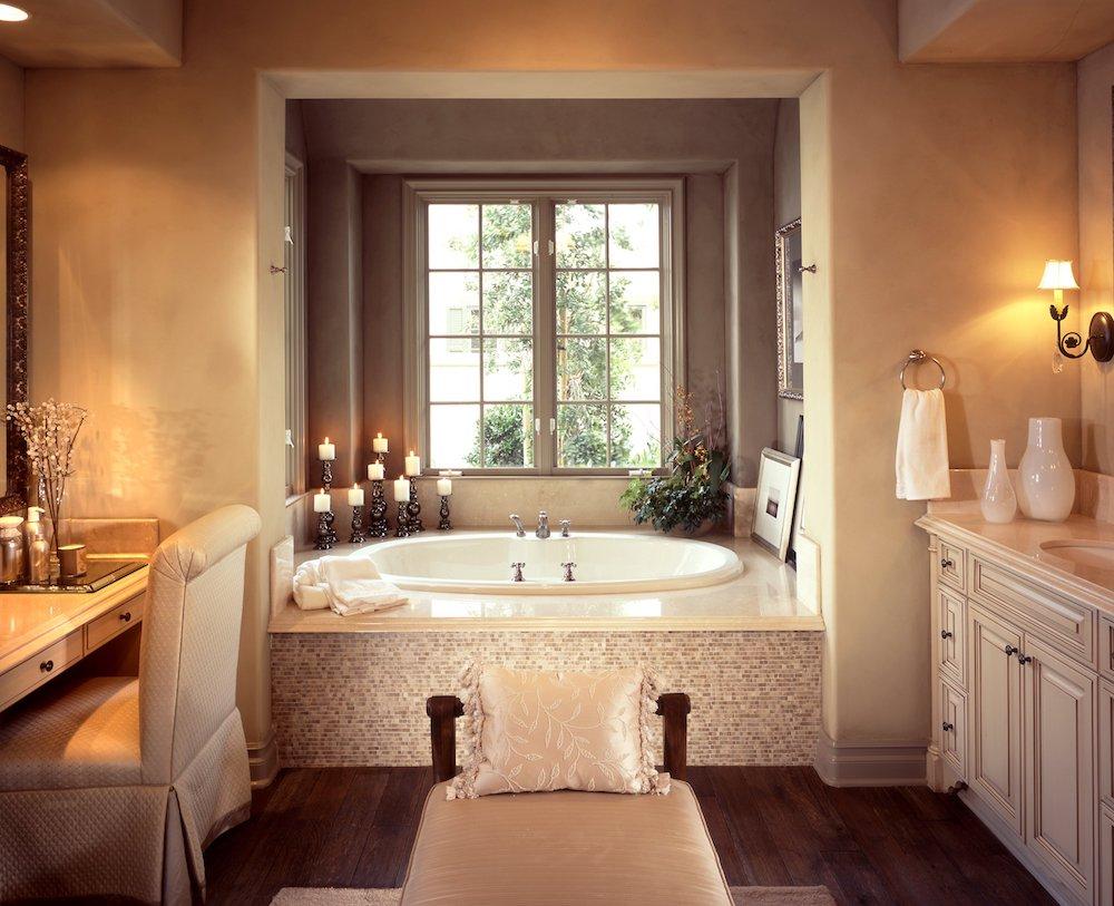 Komplett fransk lantlig bad