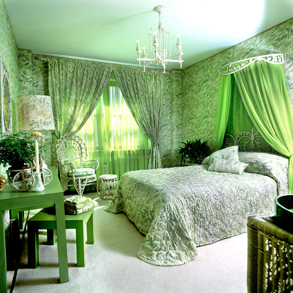 Green Princess sovrum
