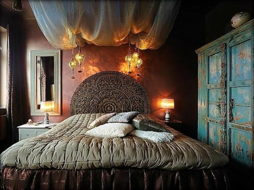 Gammalt gotiskt sovrum