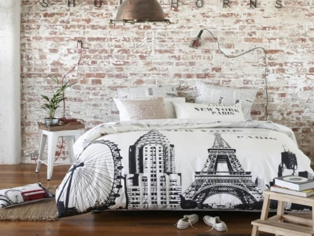 Vintage tonåring sovrum