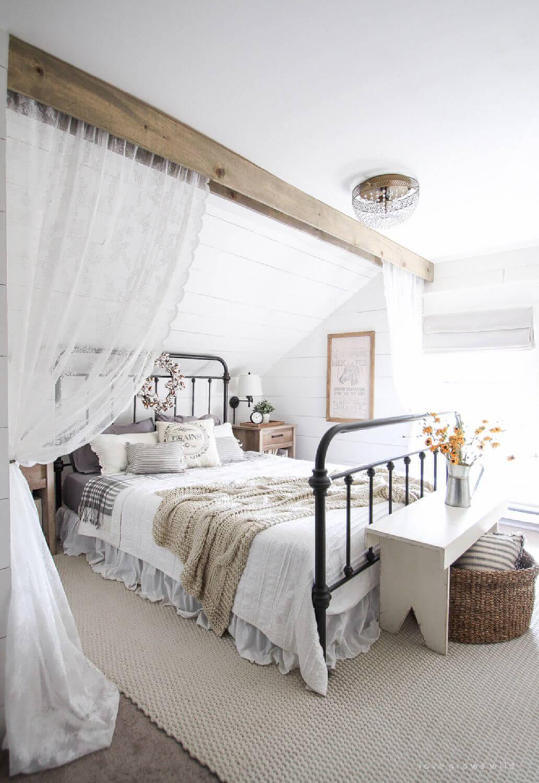 Riktigt romantiskt sovrum