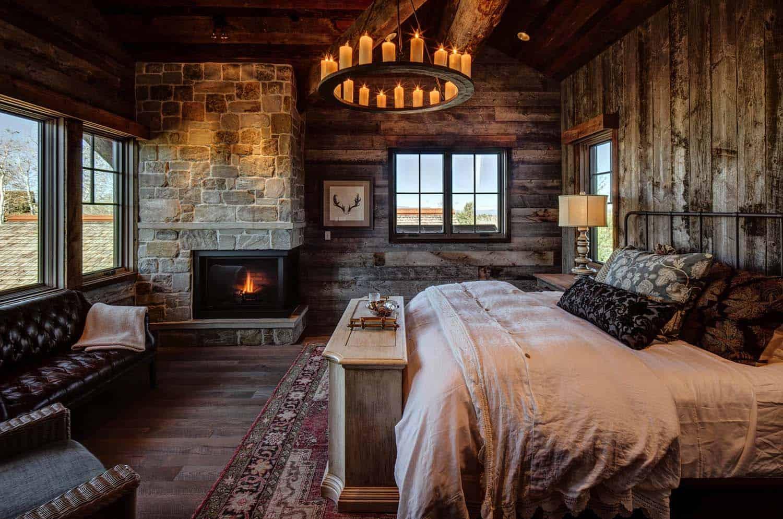 Enastående vintage sovrum
