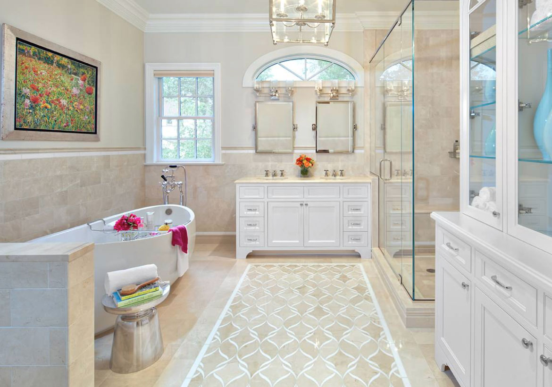 Underbara badrumsgolv