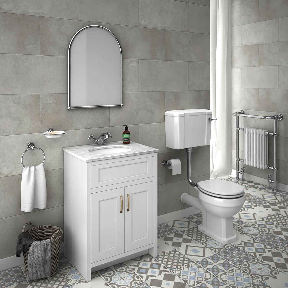 Exceptionellt badrumsgolv