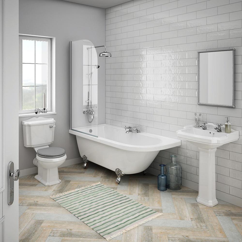 Rent traditionellt badrum