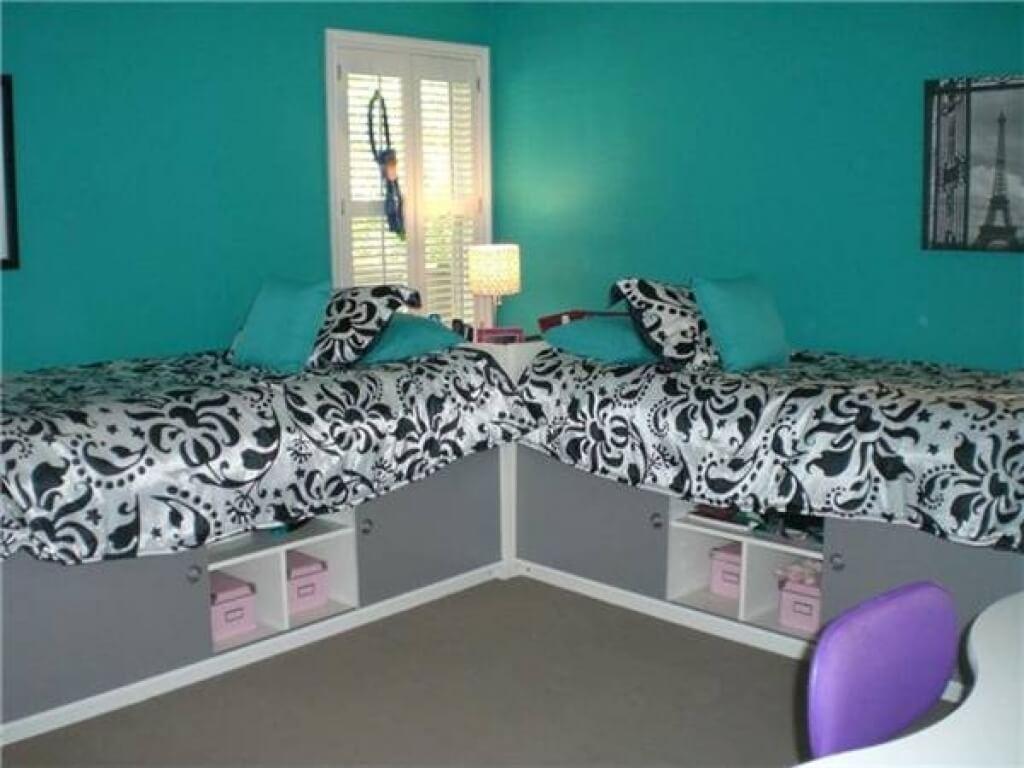 Unika flickor sovrum
