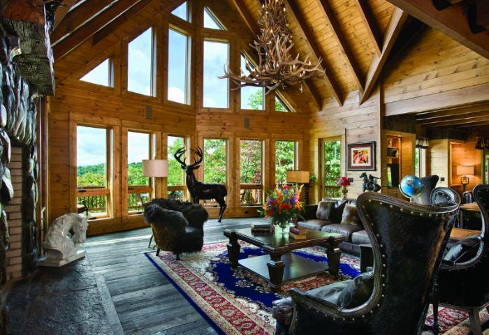 Estetiskt stort rum