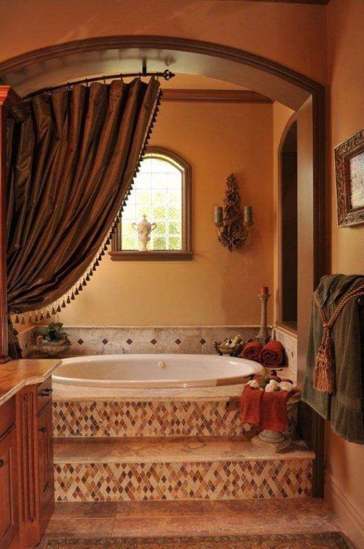Billigt toskanskt badrum