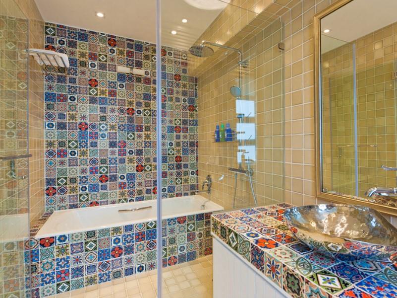 15 Idéer för badrumsplattor 2020 (kolla in dessa) 8