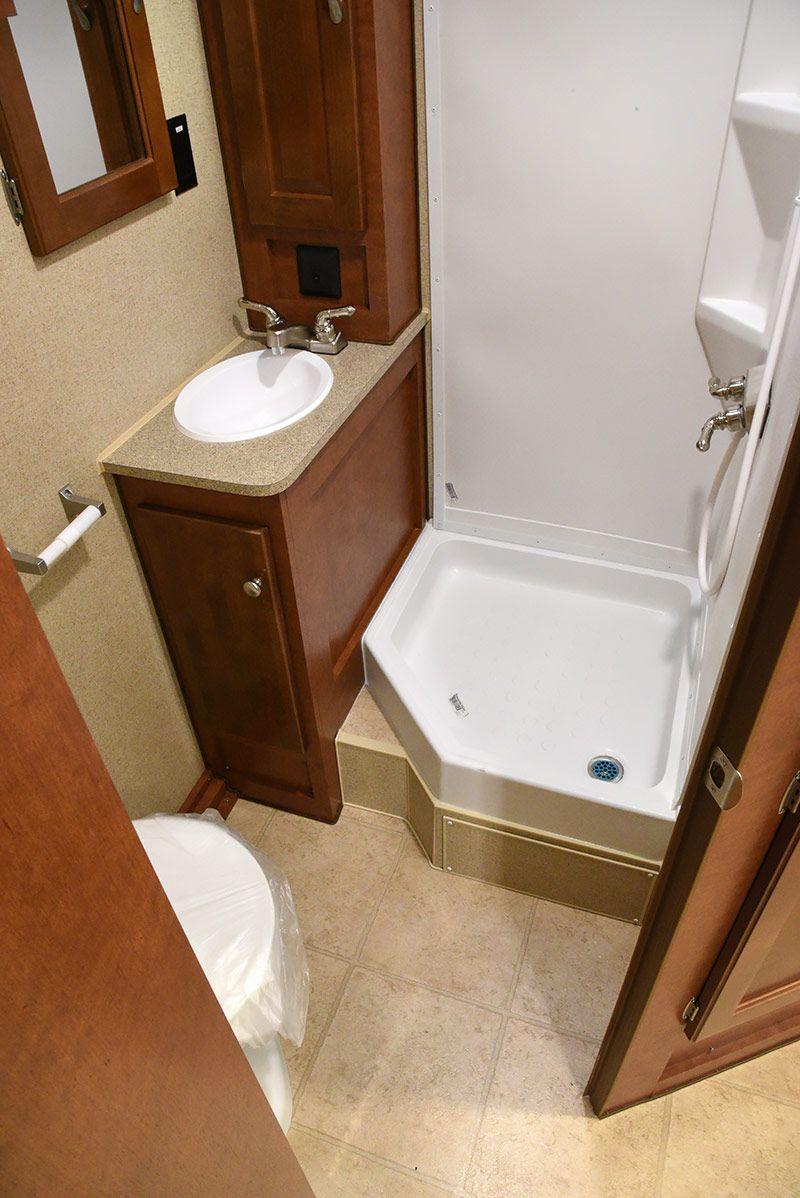 Underbart RV badrum