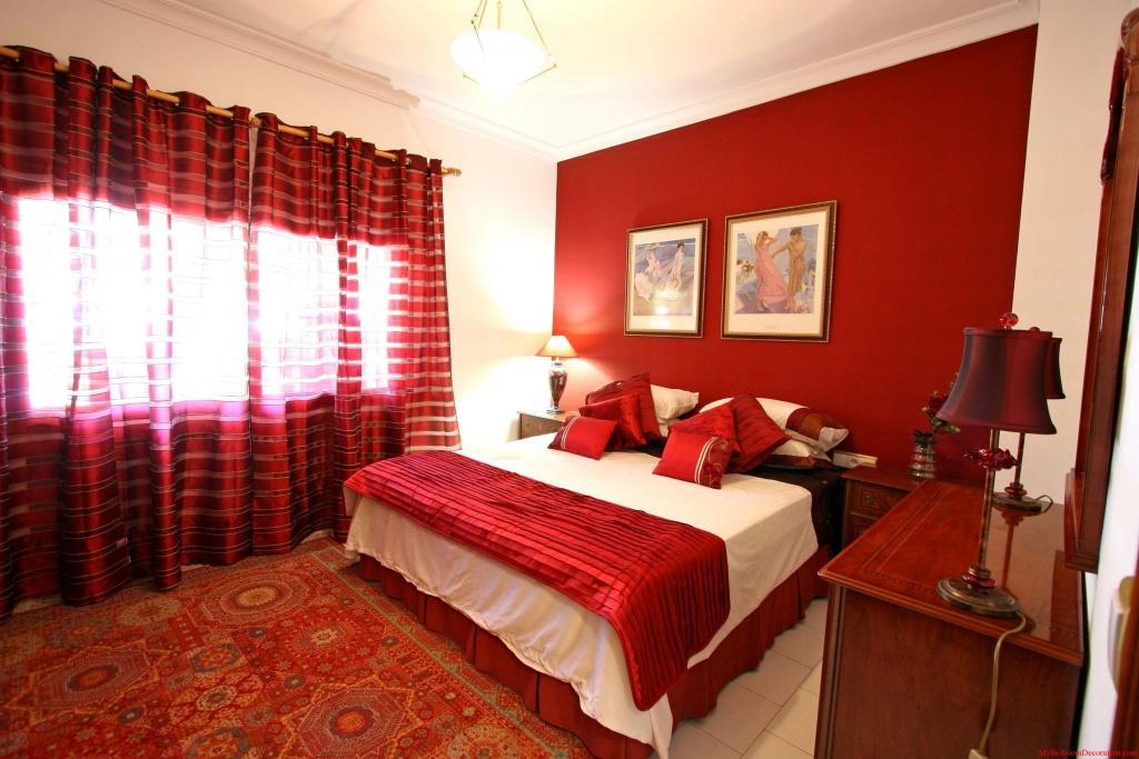 Översta röda sovrummet