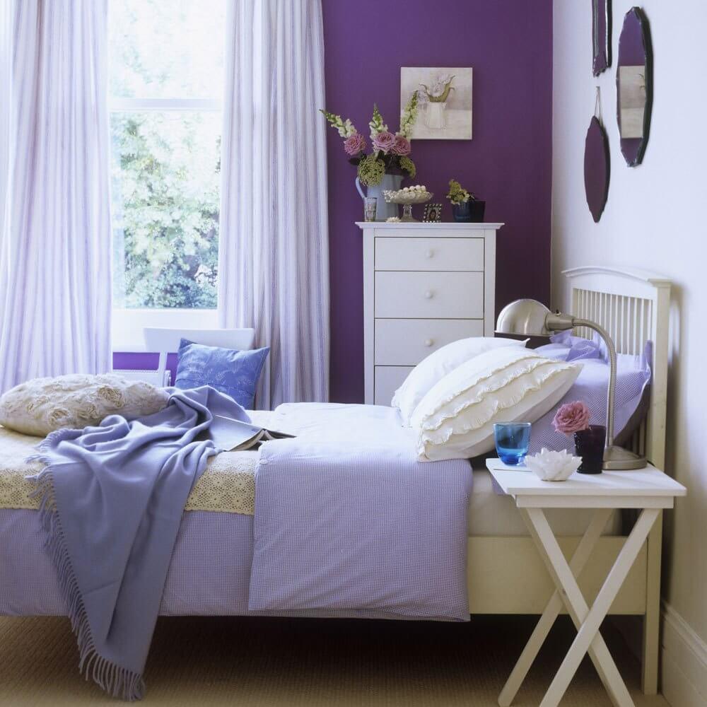 Dekorativ sovrumsspegel