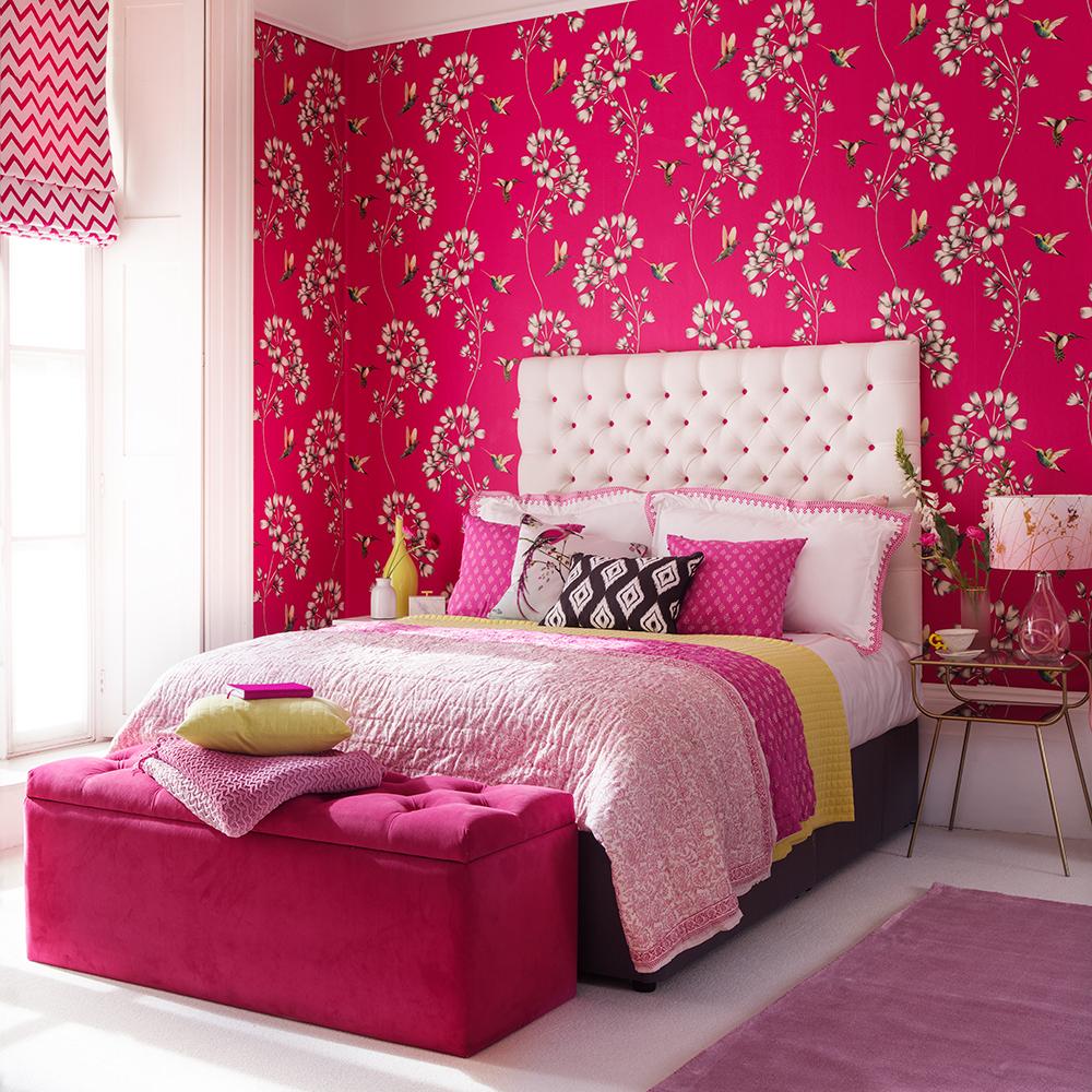 Trevlig fix övre sovrummet