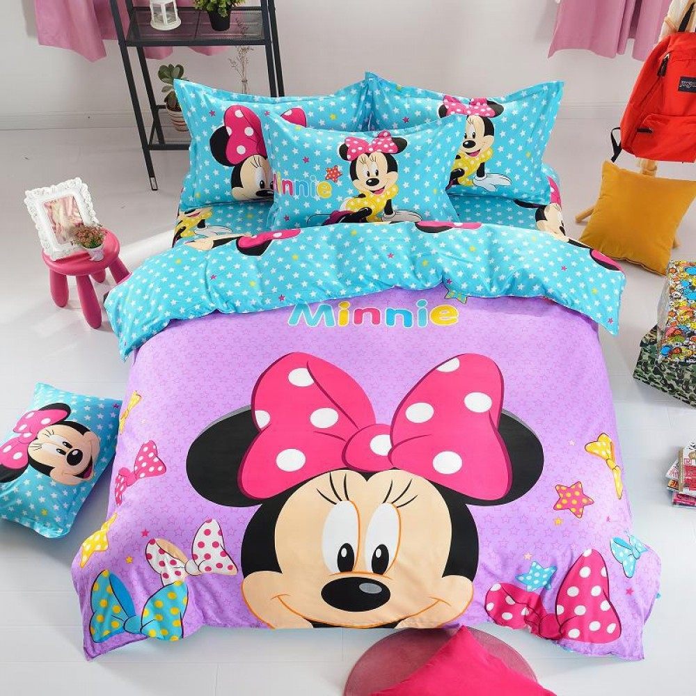 Glad Minnie Mouse sovrum