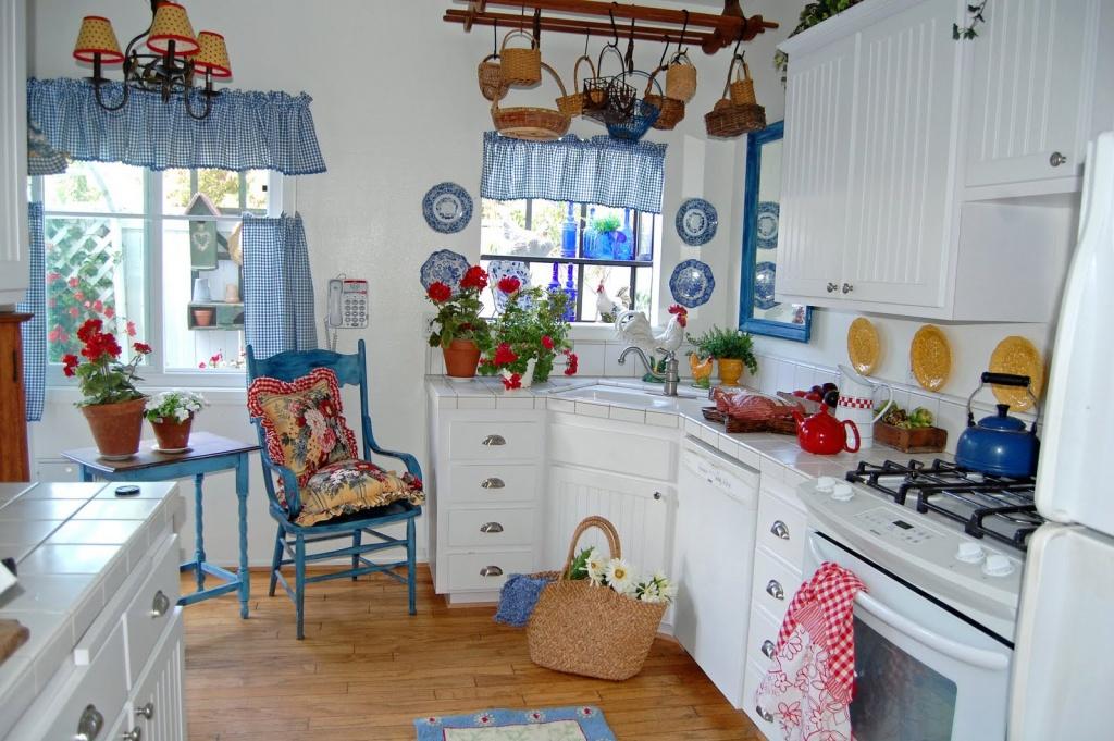 Bedårande ljuskrona i köket