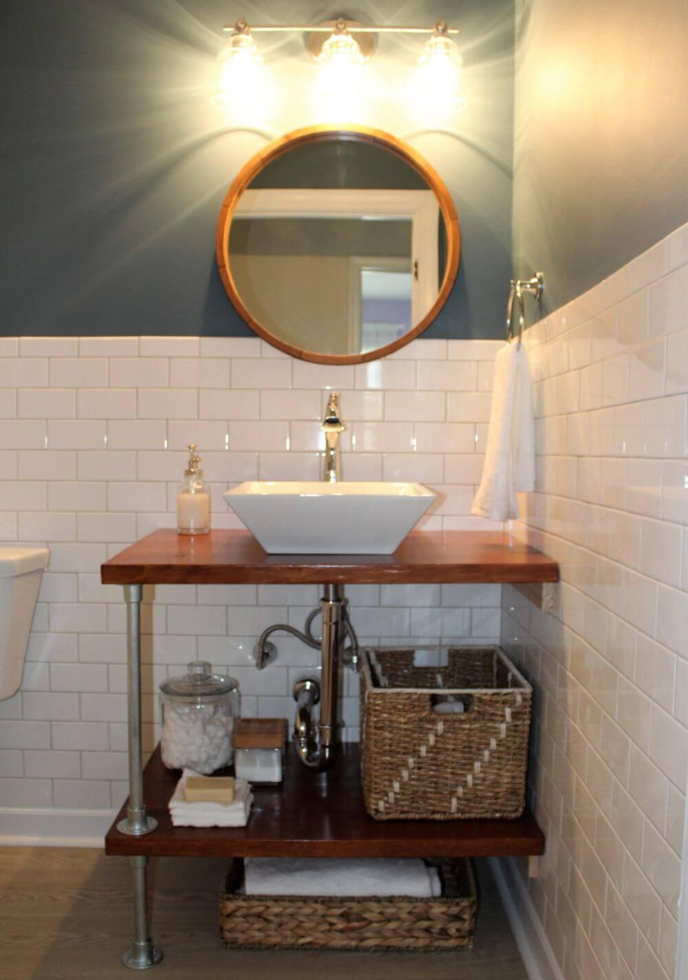 Combo DIY badrum fåfänga