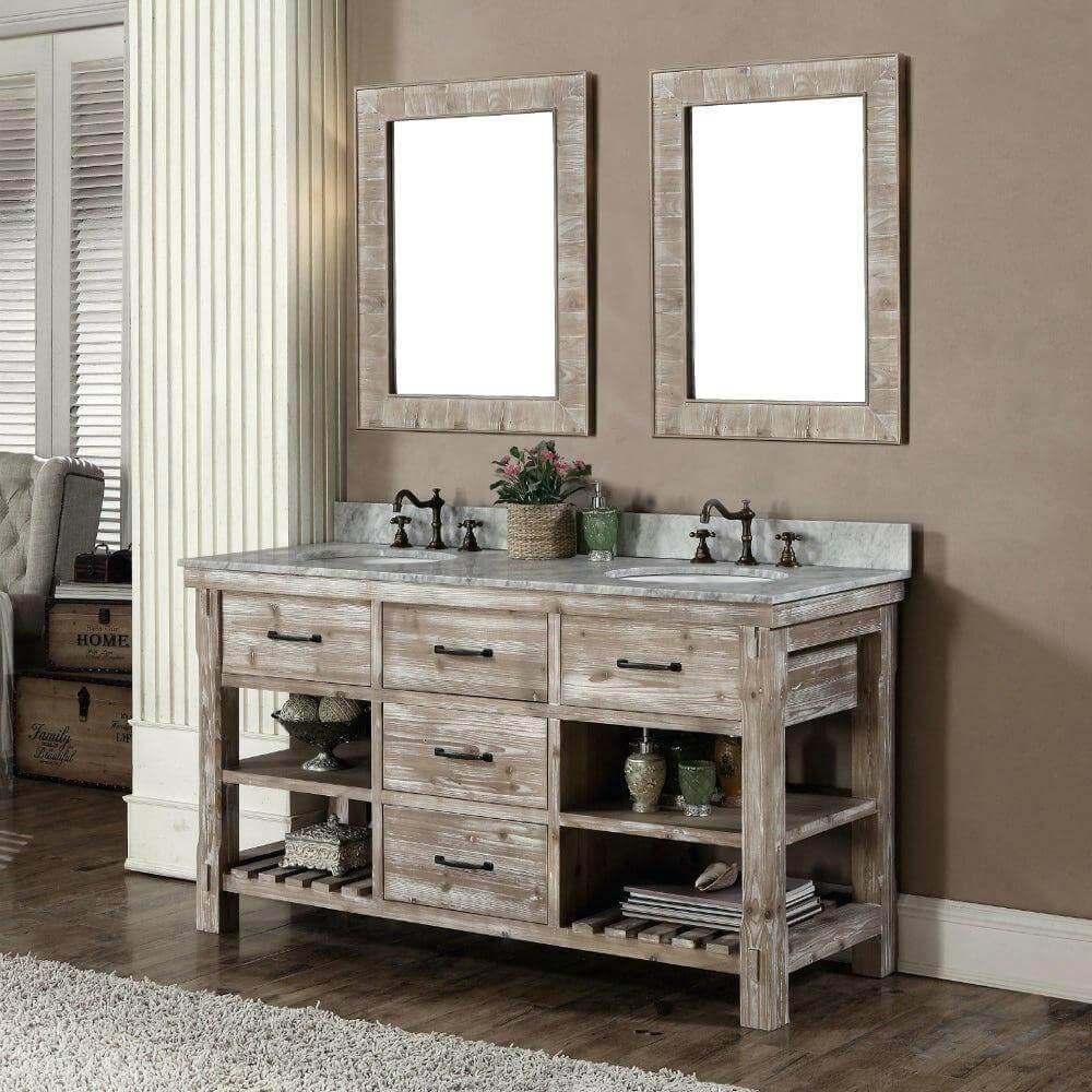 Omfattande DIY badrum fåfänga