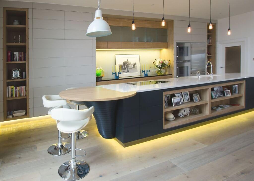 Trendigt modernt kök