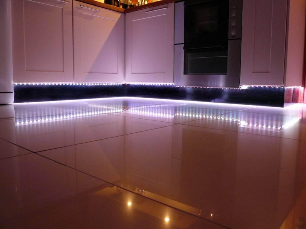 Fantastiskt kök LED-belysning