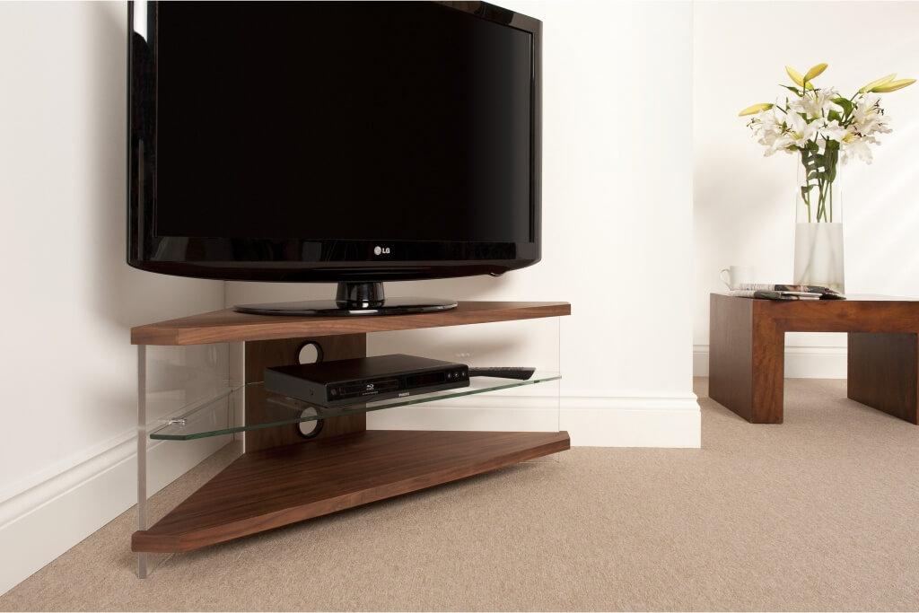 TV-stativ i hörnet