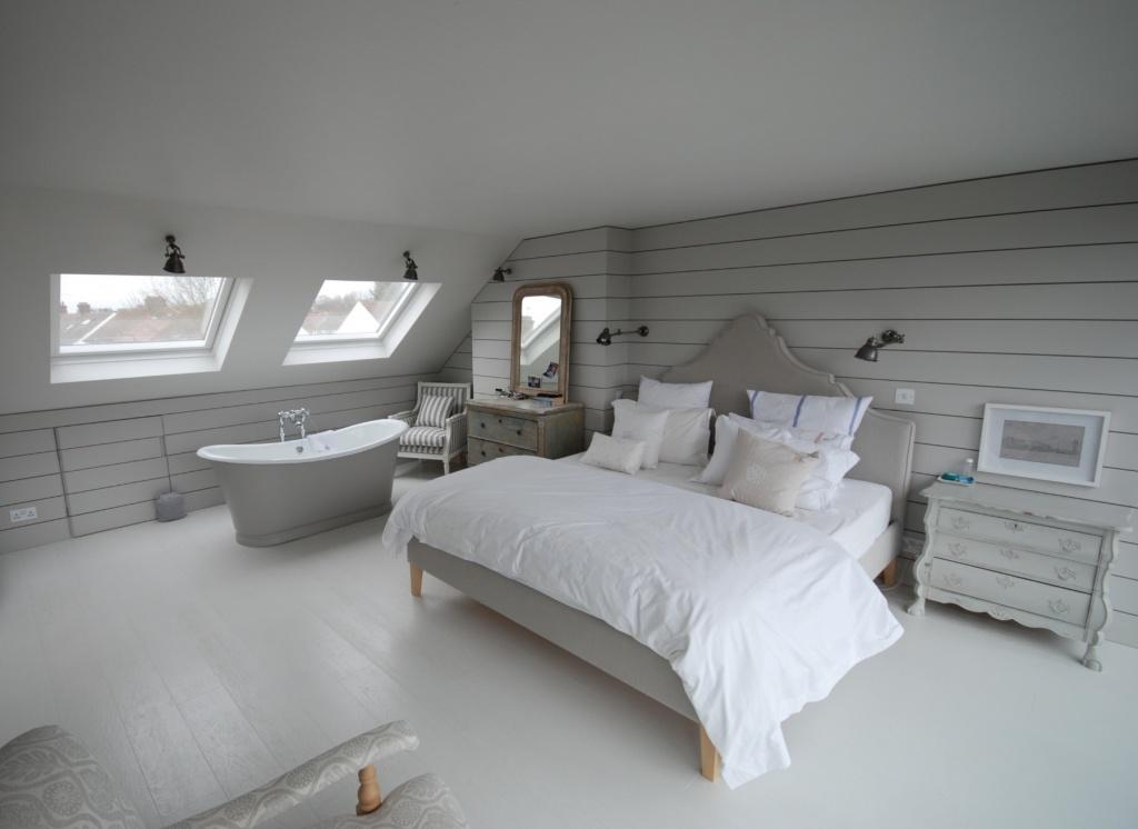 Lugnt neutralt sovrum