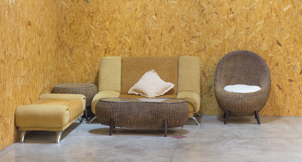 Jordinspirerat, formellt mini-vardagsrum