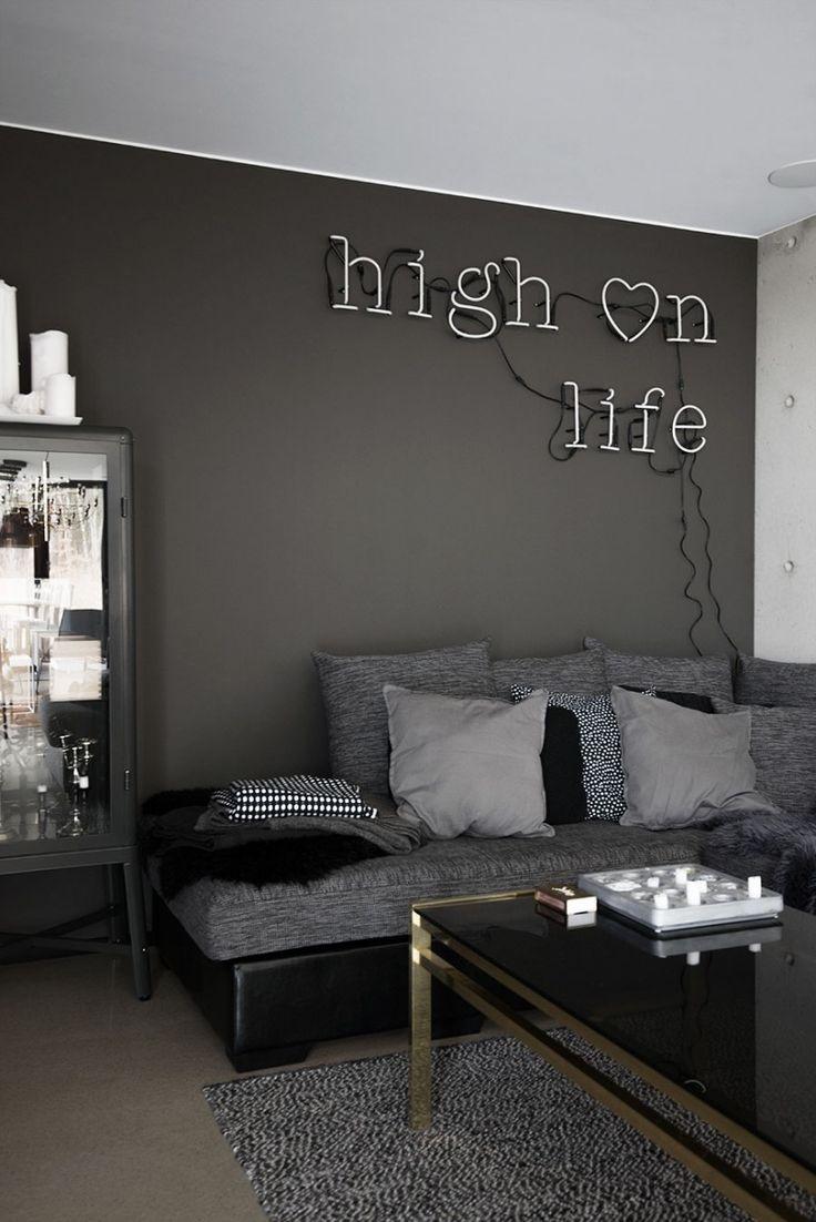 Cool svart och grå minispot
