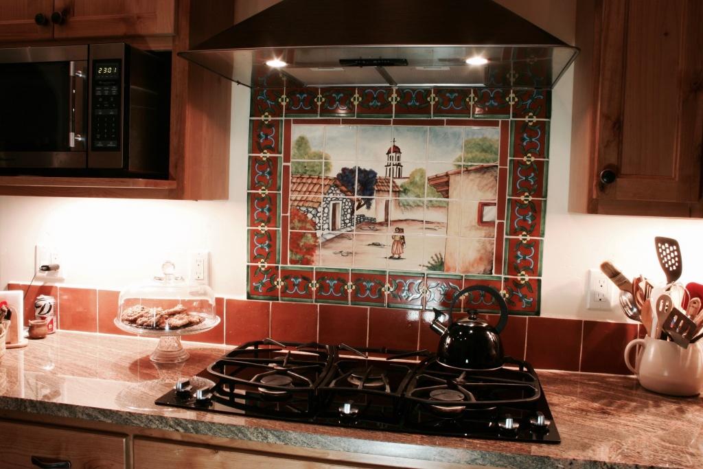 Bekväm backplash för köket i sydväst