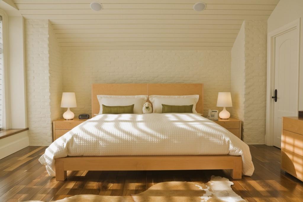 Modern klassisk sovrumsdörr