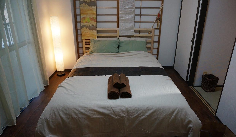 Japanska zen sovrum