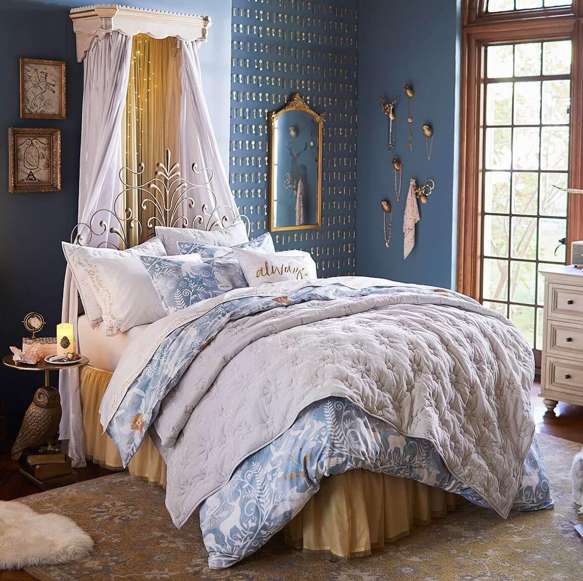 Klassisk sovrumsspegel