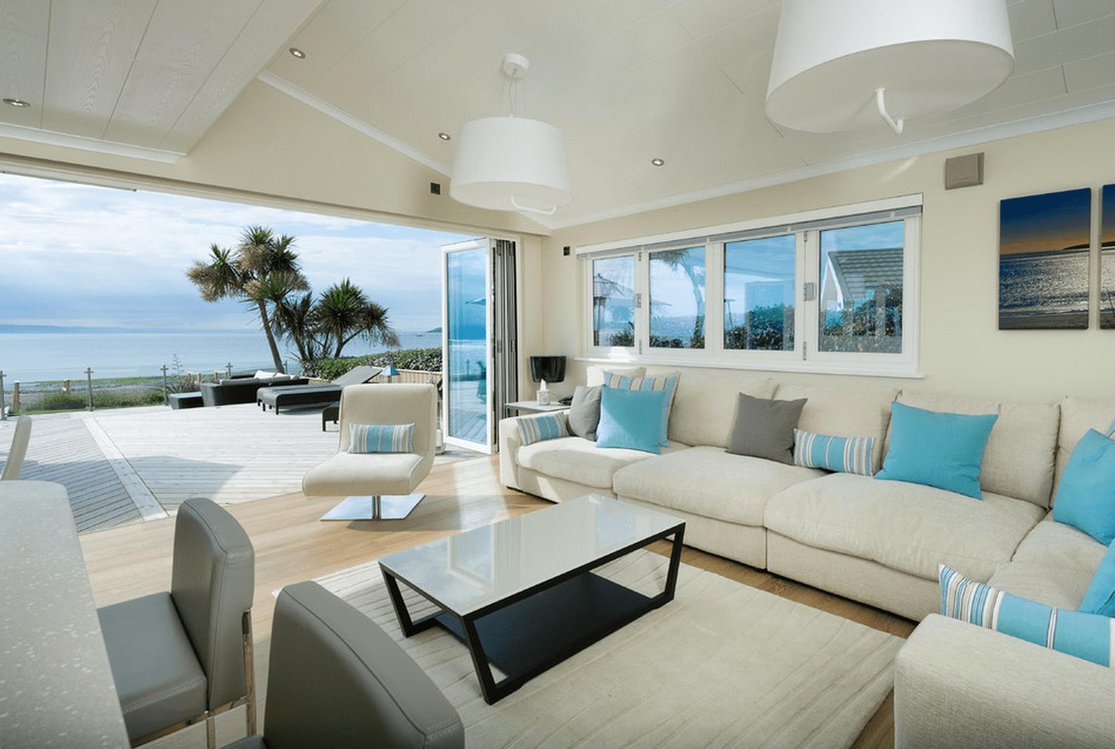 Stora Airy Beach vardagsrum