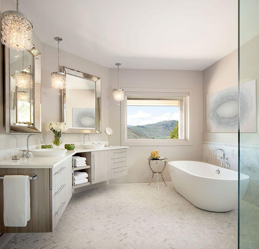 Smart förvaring av badhanddukar